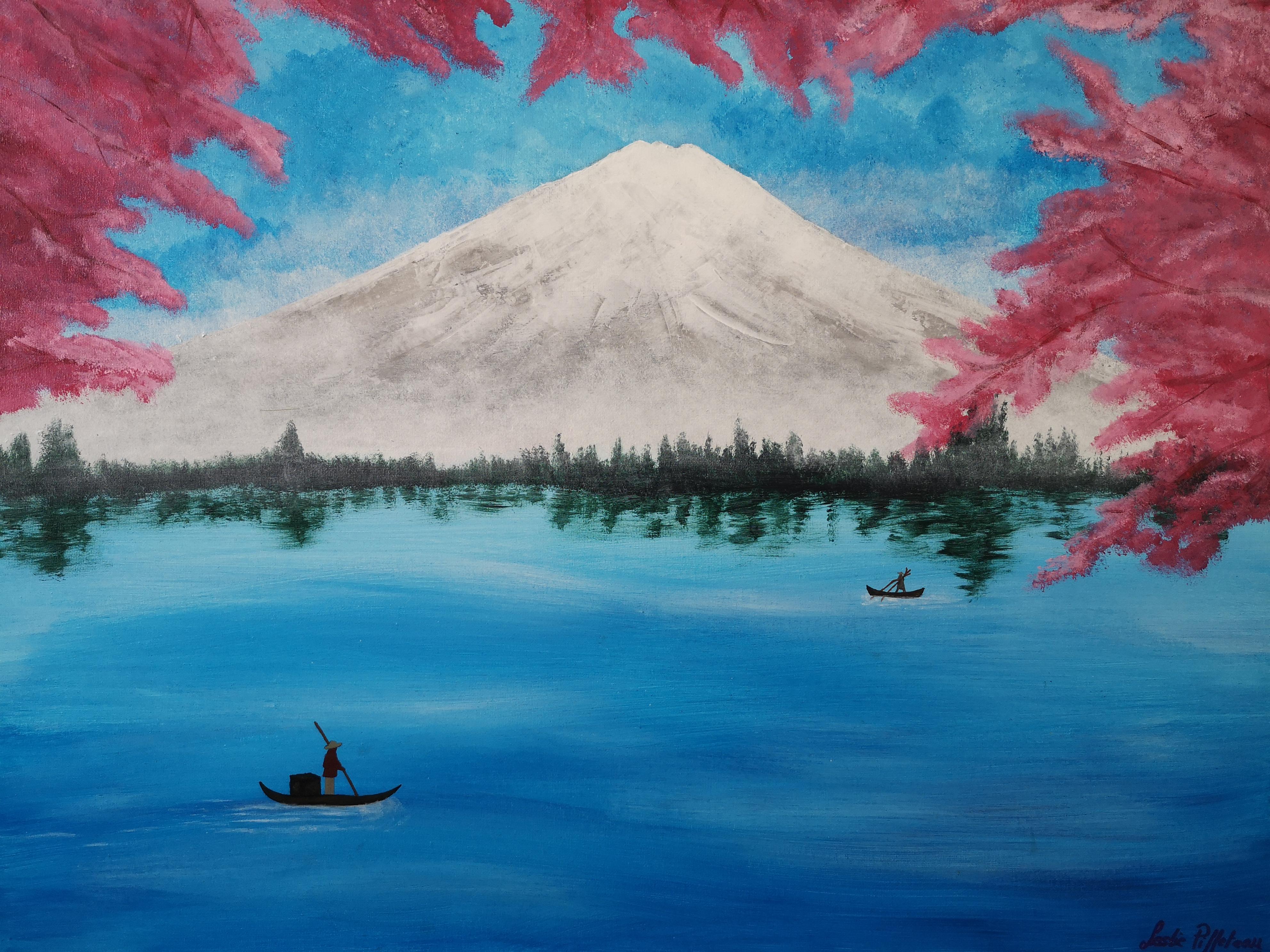 Yicca Mont Fuji Leslie Piffeteau